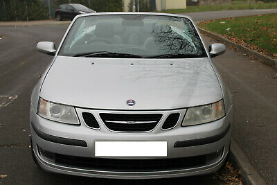 Silver Saab 2Lt Convertible In Excellent Condition. Drives All Good & G/Box A1