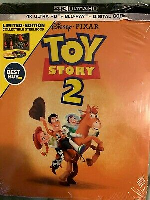Disney Toy Story 2 (4K Ultra HD, Blu-ray/Digital) Steelbook™ Bestbuy NEW Sealed