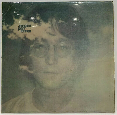"John Lennon, Imagine, 12"" Vinyl LP Album Record (PAS 10004) EMI Records"