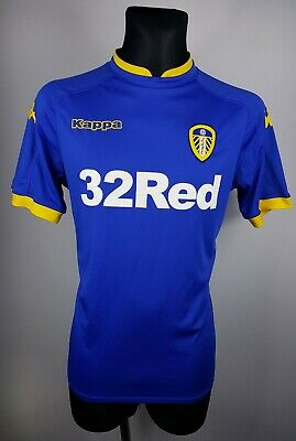 LEEDS UNITED 2017/2018 AWAY SHIRT #25 VIEIRA Jersey KAPPA Size M MEDIUM (17/18)