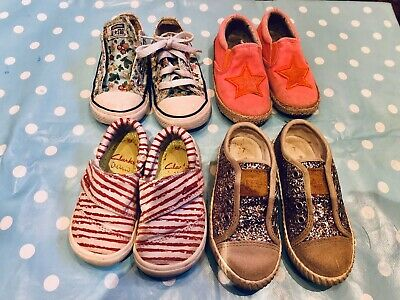 Girls Toddler Shoes Bundle size 5.5 & 7 infant