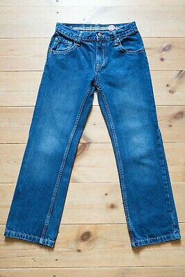 Boys BLUE ZOO @Debenhams Indigo Blue Cotton Denim Jeans. Children's Age 9 Years.