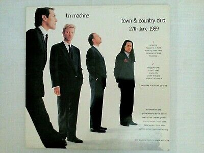 David Bowie/Tin Machine * 'Live At The Town & Country Club' * 27.6.89 * Rare!