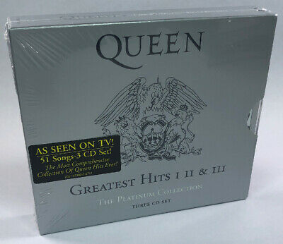 Queen - Platinum Collection - Greatest Hits I II & III - New & Sealed 3 CD