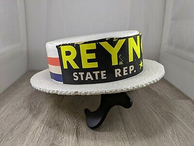 Styrofoam Campaign Hat  Lewtan Line 801-F, Large Size Reynolds 23rd District