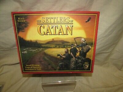 2007 Kluas Teuber The Settlers of Catan 3061 Mayfair Games