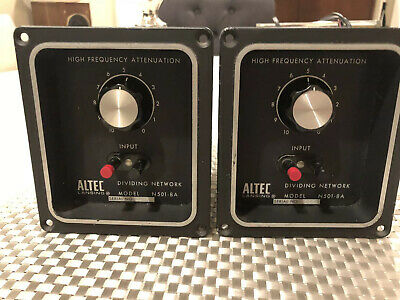 Altec N501-8a Dividing Network Crossovers Pair Working