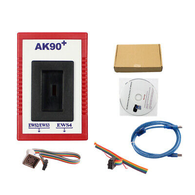 Automatic Programmer Tool Ak90 + Key Programmer Version V3.19 For Bmw Ews C E2J2