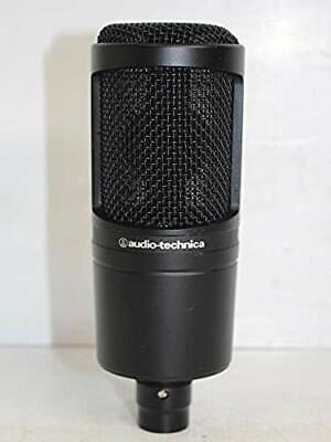 Audio Technica  Address Cardioid Condenser Studio Microphone AT2020 Wired used