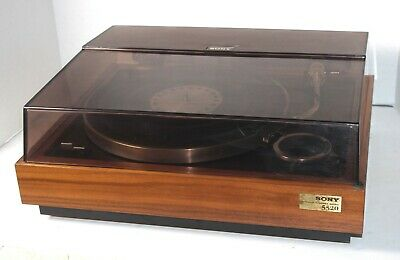 SONY PS-5520 STEREO TURNTABLE with SHURE CARTRIDGE & NEW BELT
