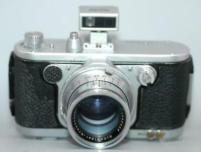 Robot Recorder camera with 75mm f4 Tele-Xenar lens & finder - Nice & Rare - Ex+!