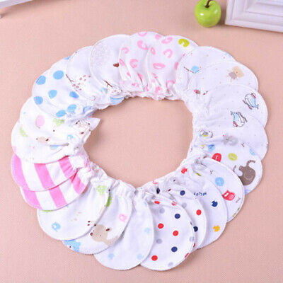 Baby Soft Cotton Infant Anti Scratch Mittens Gloves Hand guard Boy New Girl S4A9