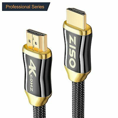 Braid Ultra HD HDMI Cable v2.0 High Speed Ethernet HDTV 2160p 4K 3D HDR PS4 lot
