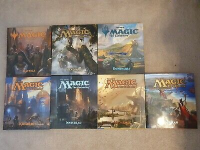 The Art of MTG Complete 7 book set -Innistrad, Ravnica, Kaladesh, Ixalan etc