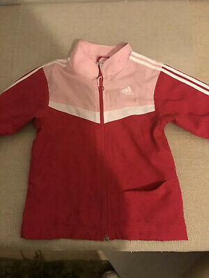 Girls Adidas Tracksuit Top - size 116 - 3-4 Years