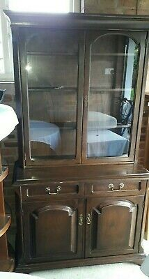 A very nice Gentique Reproduction Oak Chiffonier Bookcase