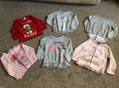 bundle girls clothes 3-4 years used x 6