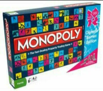 Monopoly Olympics edition Family Board game NEW AND SEALED