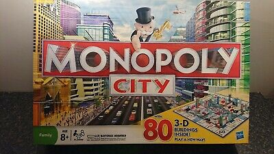 Monopoly City Edition Board Game family fun  100% complete