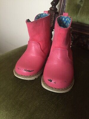 Girls Size 5 Infant Shoes From Next. Condition Is Used. 2 Pairs