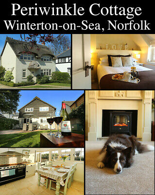 SHORT BREAK in March at pretty two bed Norfolk dog friendly cottage sleeps 4