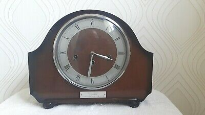 """"""" The Alexander Clock Co. Floating balance. Westminster Chime Mantel Clock."""