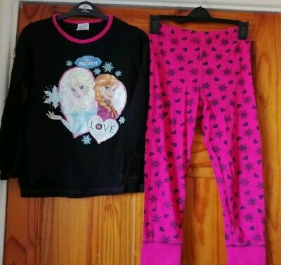 Girls Aged 7-8 Years Frozen Pyjamas