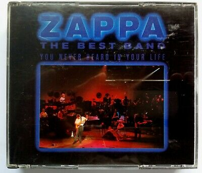 Frank Zappa the Best Band You Never Heard in Your Life 2xCD Zappa 1991