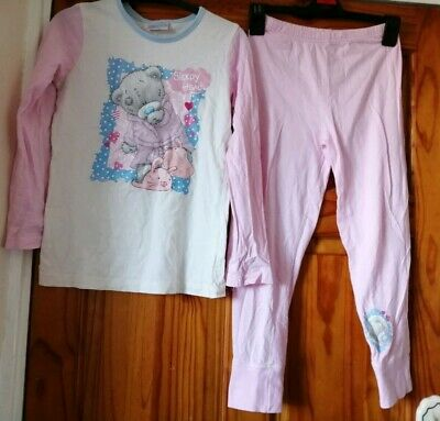 Girls Aged 7-8 Years Tatty Teddy Pyjamas