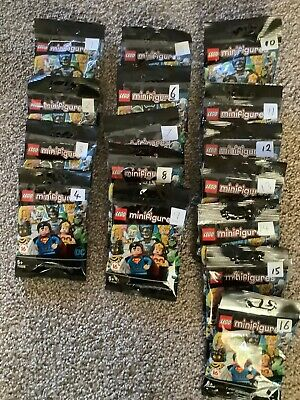 LEGO Minifigures DC Comics Super Heroes (2020) - Complete Full Set of 16 Figures