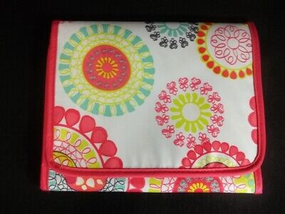 Thirty One Fold It Up Organizer Citrus Medallion Tablet Case Holder