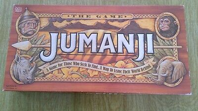 Jumanji The Board Game - Complete 1995 by Milton Bradley - VINTAGE