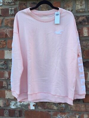 Holister brand new with tags, Pink crewneck sweatshirt/jumper, Middle