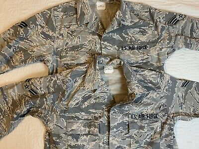ABU Coat Air Force Jacket Camouflage Utility Combat Men 42XL Military Lot Of 2