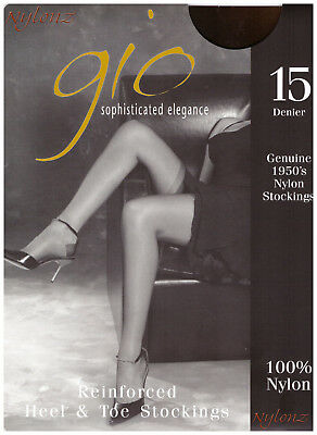 Gio RHT Stockings / Nylons - ALL SIZES & COLOURS *PERFECTS* from NYLONZ