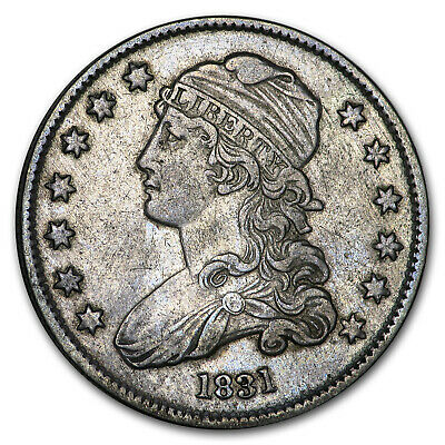 1831 Capped Bust Quarter XF (Large Letters) - SKU#180463