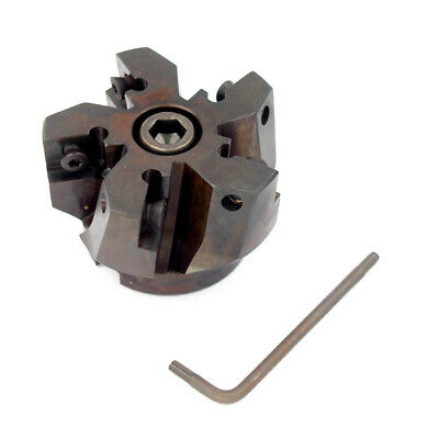 """Hertel Indexable Face Mill 1-1//2/"""" x 1//2/"""" x 1//2/"""" x 1-1//2/"""" 5-Insert #HM099412A"""