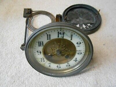 Vintage French Clock Movement. Working needs a clean / service. Spares Only.