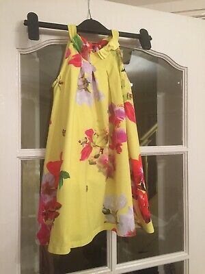Ted Baker Girls Dress Aged 4/5 Stunning Dress Immaculate Condition