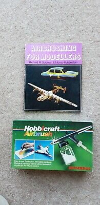 Humbrol Hobbicraft Airbrush Kit and Airbrushing for modellers book