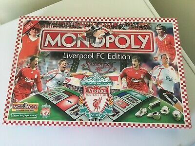 MONOPOLY LIVERPOOL Edition 2007 Board Game 2-8 Players Free UK Post