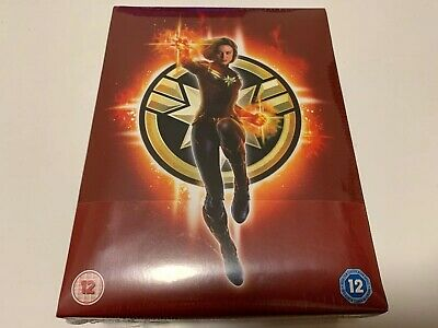 Captain Marvel Collector's Edition 4K UHD Blu-ray Steelbook UK Exclusive