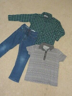 NEXT boys 3 years shirt and jeans