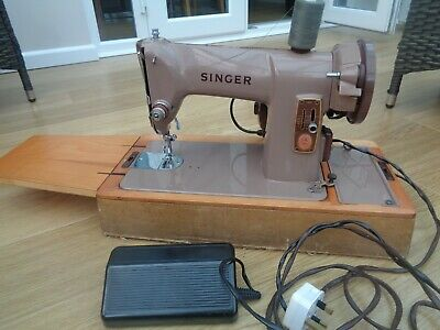 Vintage SINGER 185k Electric Sewing Machine