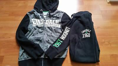 Lonsdale boys size 10 tracksuit - in great condition.