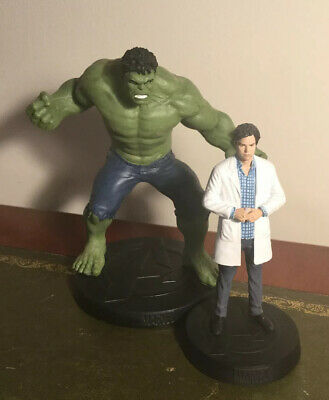Marvel Movie Collection HULK model special edition & Bruce Banner Figurine.
