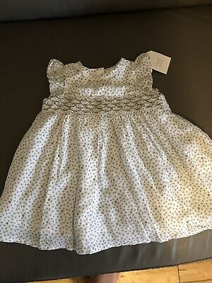 🌹BRAND NEW TAGGED NEXT Floral BABY GIRLS DRESS UP TO 3 MONTHS 🌷0-3