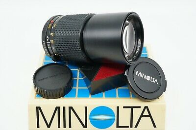 MINOLTA MD 200MM f4 TELEPHOTO LENS *SHARP OPTICS - TECHNICIAN CLEANED & CHECKED