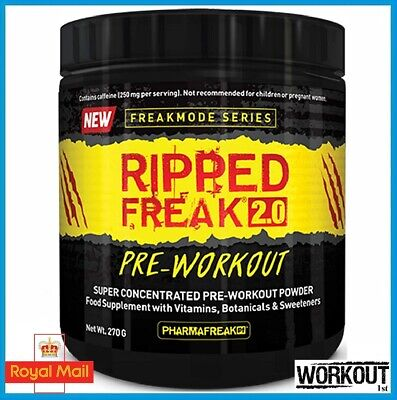 Pharma Freak Ripped Freak 2.0 Pre Workout Super Concentrated 270g / 45 SERV