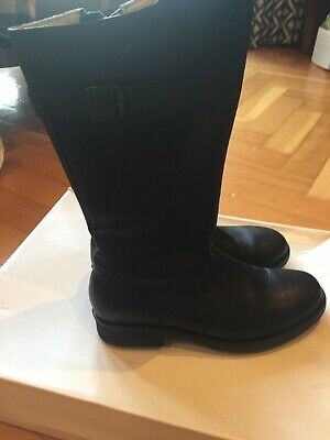 Russell And Bromley Storm  Black Girls Boots    SSize 2 UK 35 EU